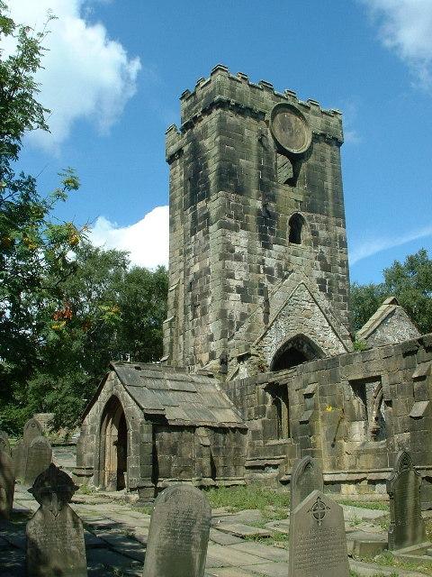Church ruins, Heptonstall