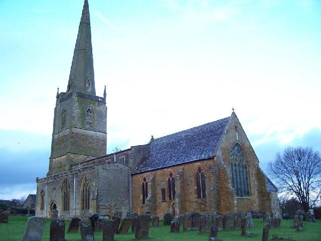Tredington Church and Graves.
