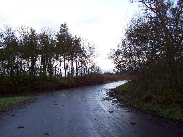 Road off to Admington