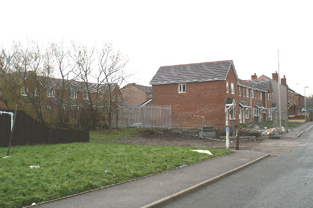 Westwood Lane, new houses