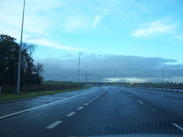 Toll road exit T4.