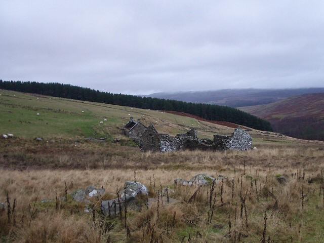 Ruins at Salachill