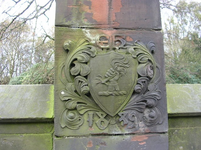 Crest of the Halsey family