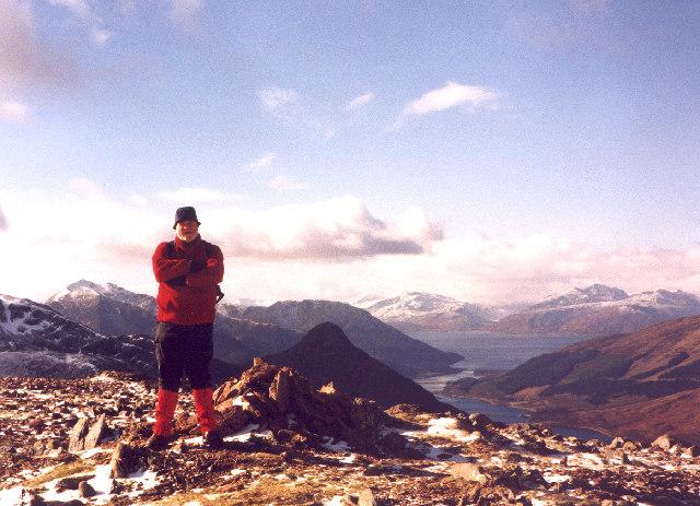 The summit of Garbh Bheinn