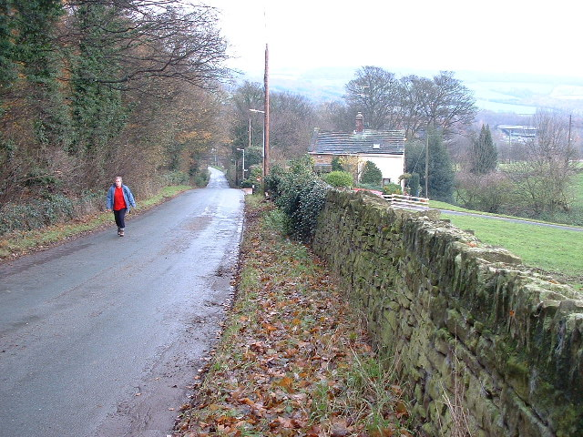 Looking down Jebb Lane