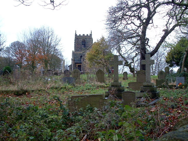 High Hoyland Church & Churchyard