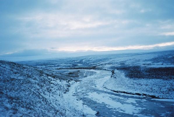 River Tees, south of Crookburn Foot