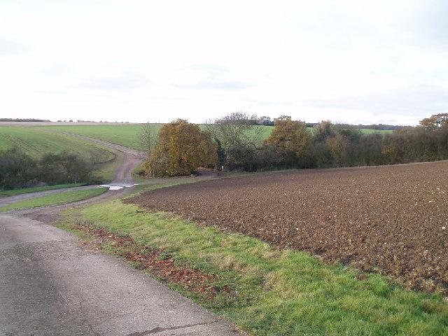 Roads in Outfields farm