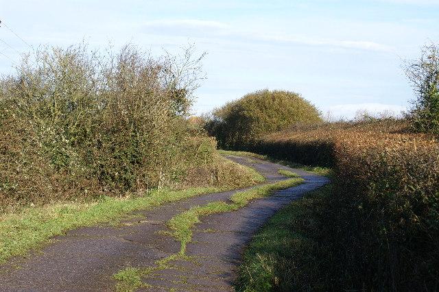 Track to Treble House Farm