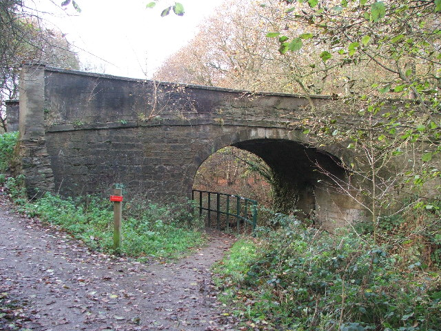 Bridge over the Barnsley Canal.