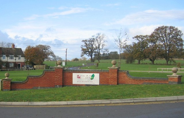 Entrance to Hartpury College