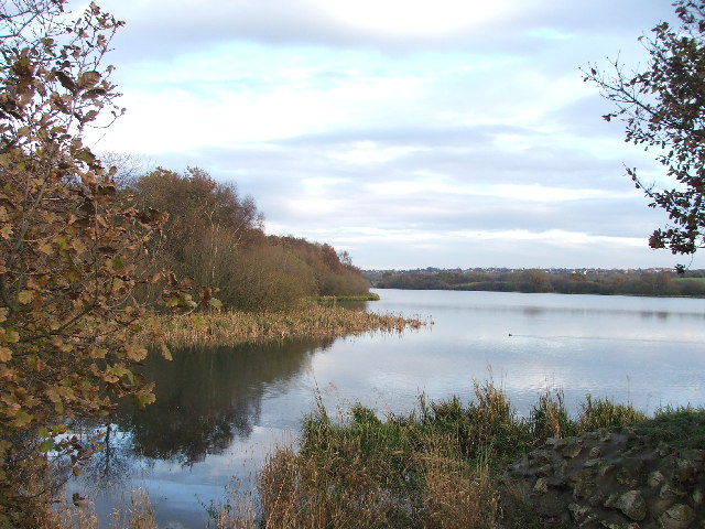 Cold Hiendley Reservoir.