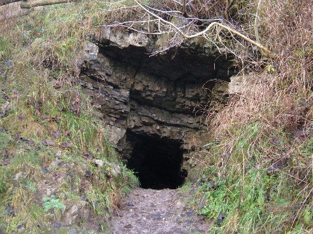 Cave in Lathkill Dale