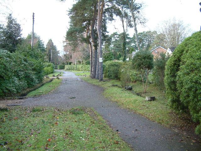 Ferndown, residential area
