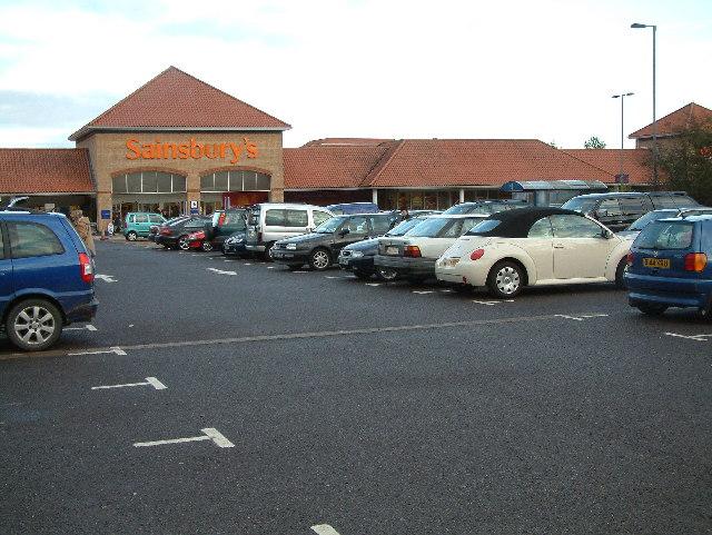 Sainsburys, Tricketts Cross, Dorset