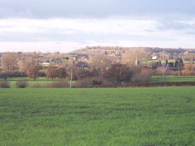 View NE from Rodway Lane