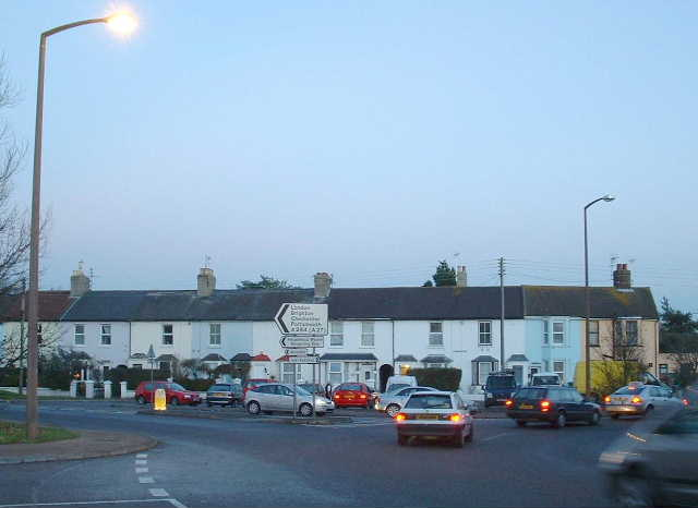 Cottages at Wick Roundabout