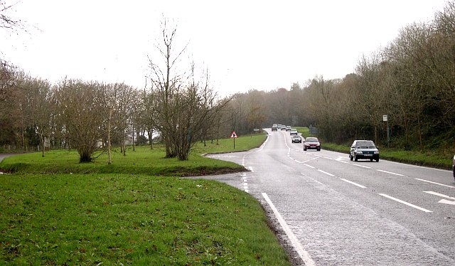 A386, Main Road between Yelverton and Tavistock