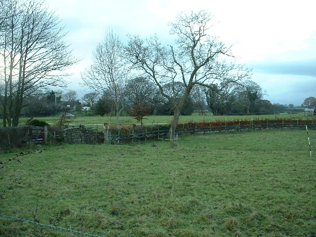 Farmland near The Patten Arms
