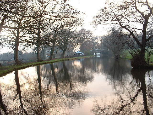 Lancaster Canal at Forton