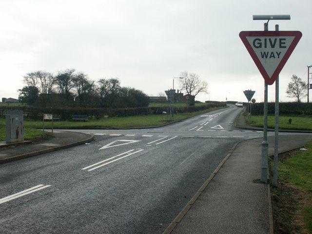 Crossroads, Barrows Green, Selston