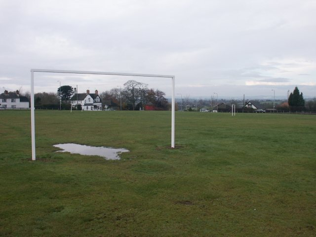 Playing field and pub, Selston