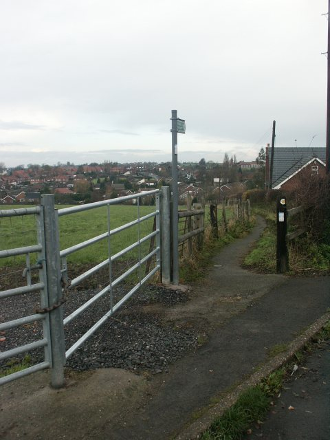 Footpath, Selston