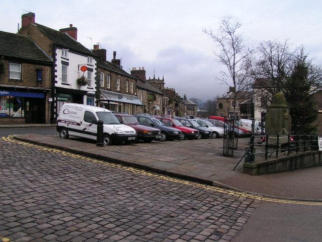 Market square, Chapel-en-le-Frith