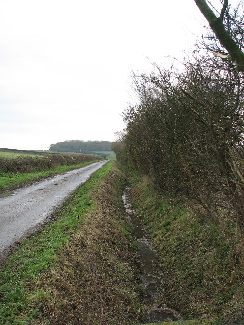Drainage Ditch, Somerby Lane
