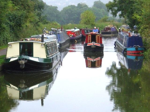 Kennet & Avon Canal South of Milbrook Swing Bridge