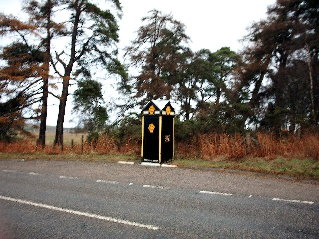 AA Telephone Box 714 at Threapland