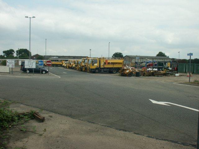 Highways depot, Ketteringham