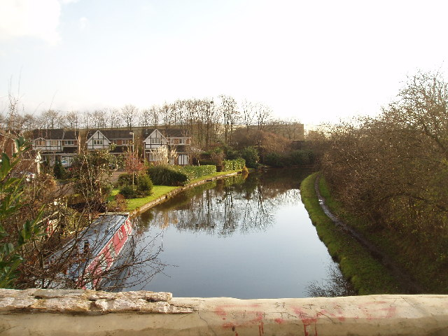 Trent & Mersey Canal from School Road North Bridge