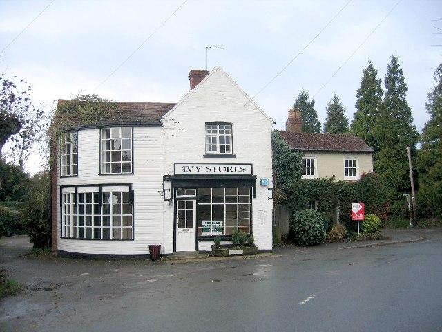 Tanworth-in-Arden - village shop