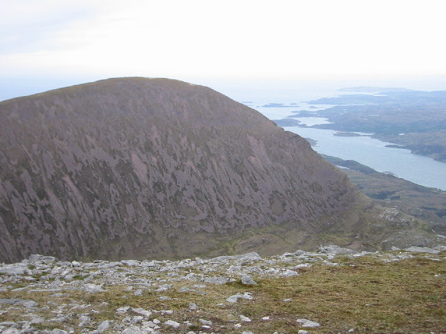 Sail Gorm from Sail Garbh, Quinag