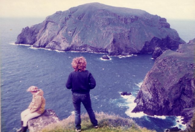 Soay - NW tip of St Kilda