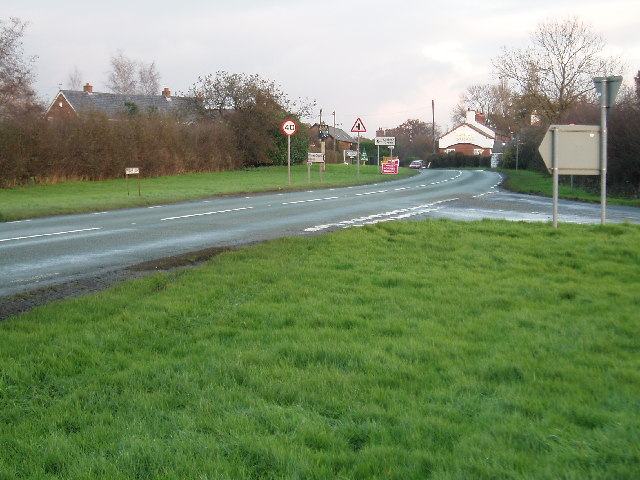 Junction of Crowder's Lane & Penny's Lane
