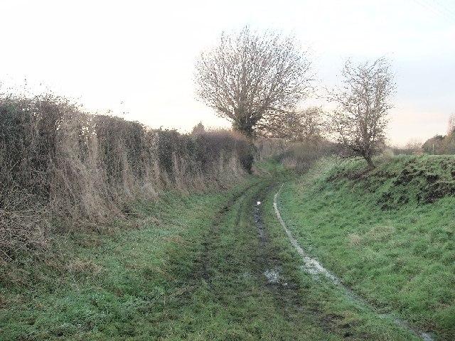 Footpath near Townsend, Urchfont