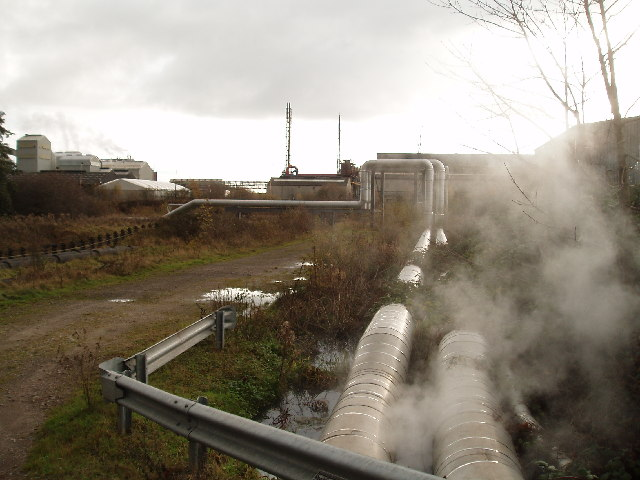 Pipelines,with ICI works in background