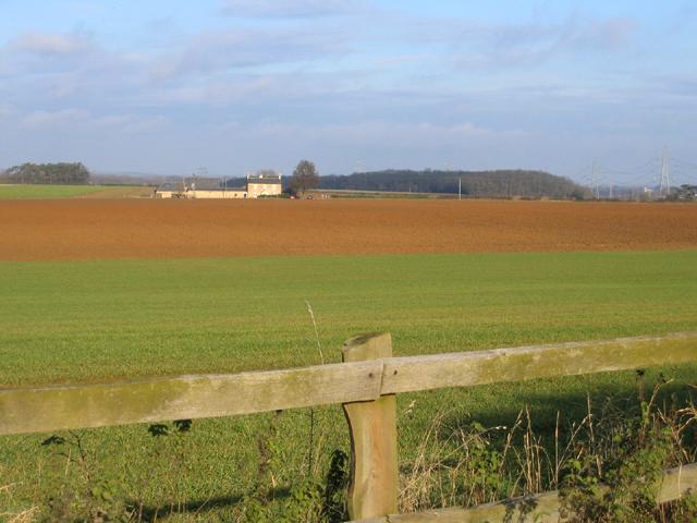 Farmland towards Ufford Heath Farm, Ufford, Peterborough