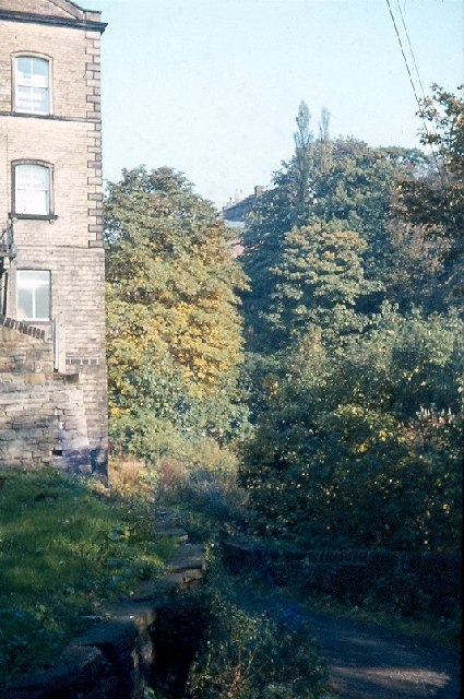 Butler Lane, off Browgate, Baildon (1963)