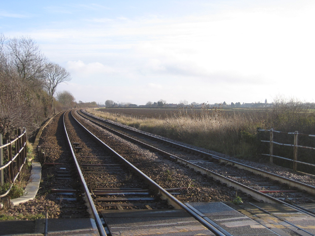 Bainton Green level crossing, Peterborough