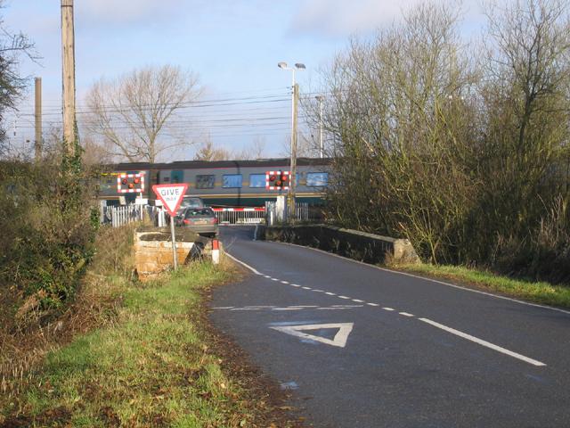 Lolham Bridges East Coast main line crossing, Peterborough