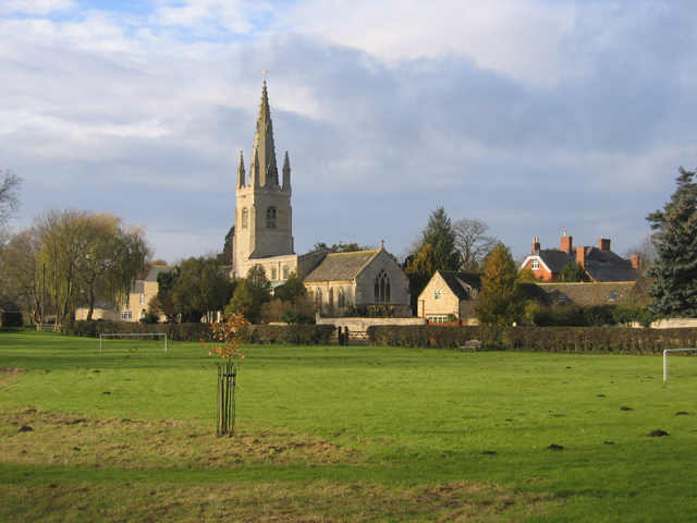 West Deeping parish church, Lincs