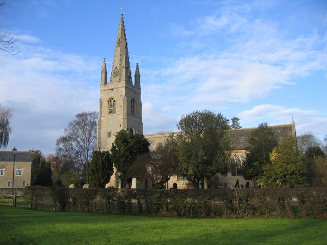 West Deeping parish church, Lincs