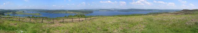 View of Kielder Water