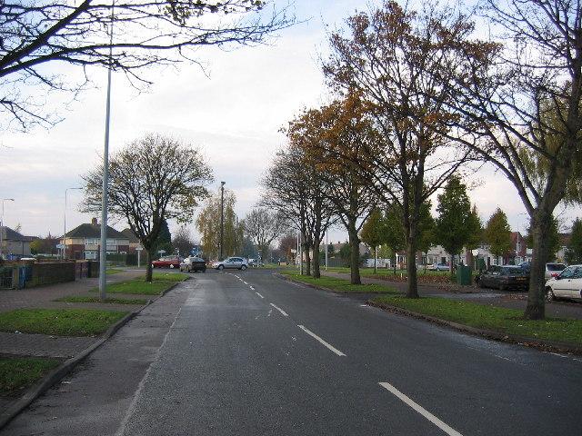 Endike Lane - Looking West