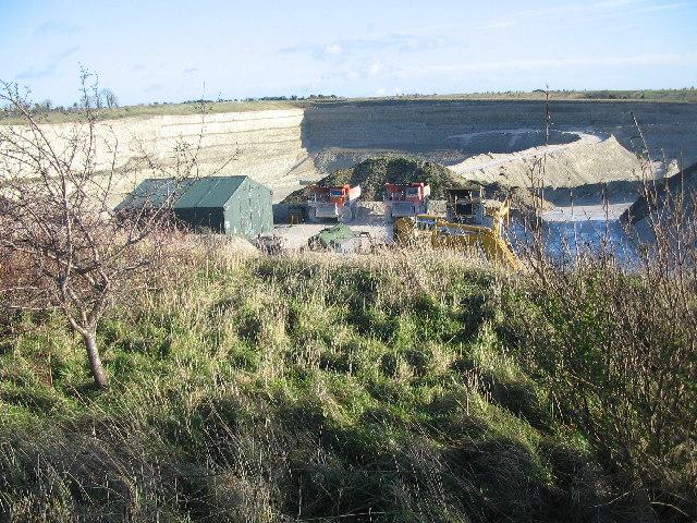 Westbury Down chalk pit
