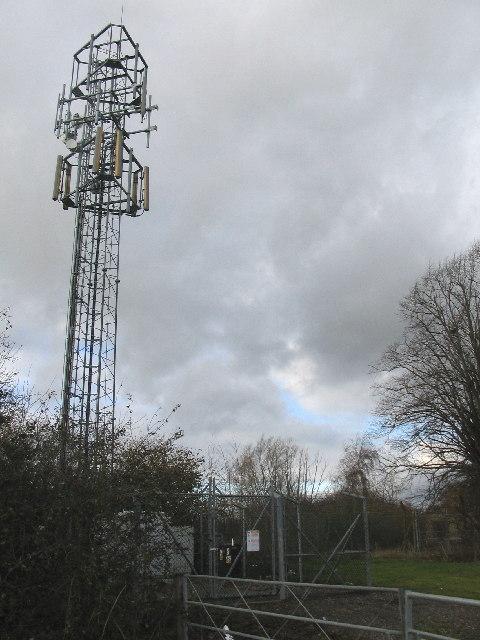 Telecom Mast near West Ashton
