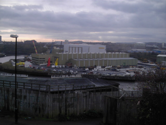 View From Keir Hardie Way